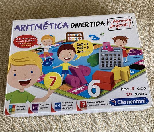 Jogo Ciência Didático Aritmética Matematica