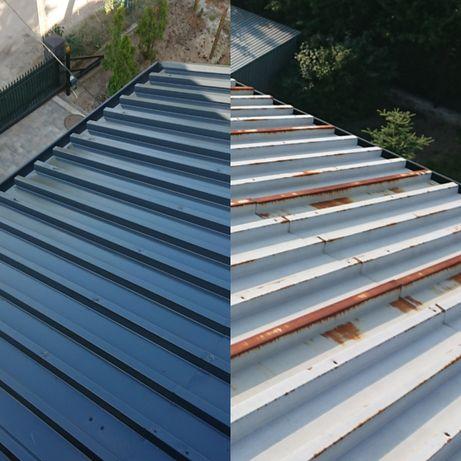 Malowanie dachu,Uszczelnianie,Impregnacja,Mycie,Remont,Warszawa