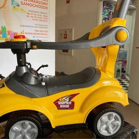 Jeżdzik z Pchaczem Mega Car 3 w1