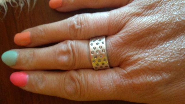 Pierścionek srebrny rozmiar 16