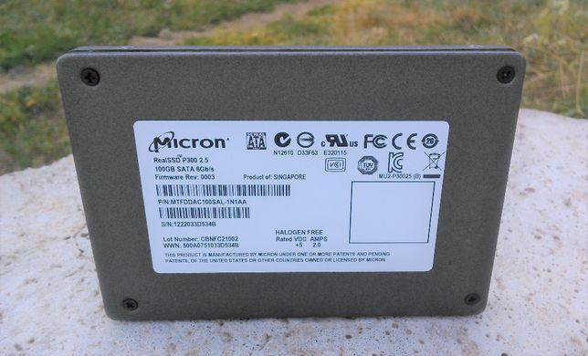 """SSD Micron P300 100 GB SATA (SLC NAND, 2.5"""")"""