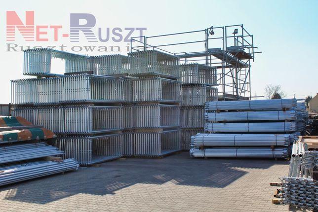 Rusztowanie Plettac 78 m2, podest 3 m Tanio