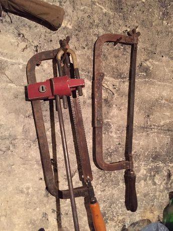 Інструмент ручний ссср пилка для металу протиугон ключі різні