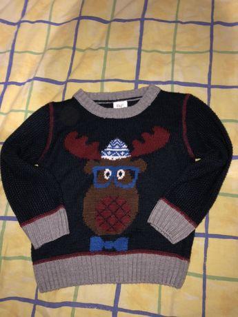 Новогодний свитер 1-3 года