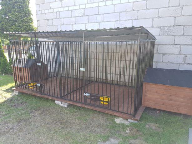 Kojce dla psów 3m X 2m Klatka Boks KOJEC o wymiarach 3m x 2m NA JUŻ