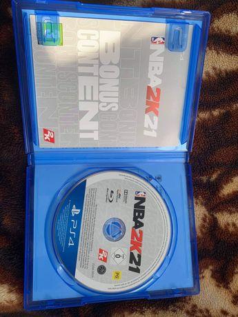 NBA 2k21 gra na PS4