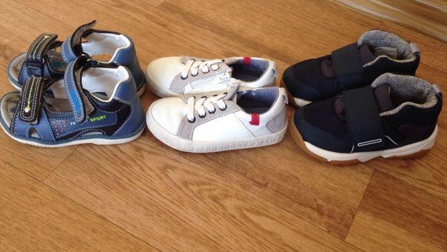 Босоножки для мальчика, кроссовки на мальчика, размер 22