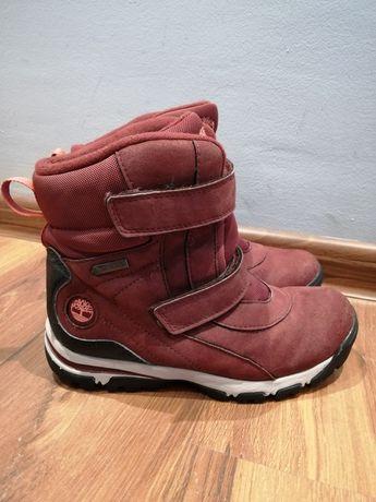 Dziecięce śniegowce nieprzemakalne buty Timberland Gore-Tex rozmiar 34