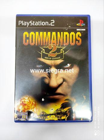 Commandos 2: Man of Courage Ps2