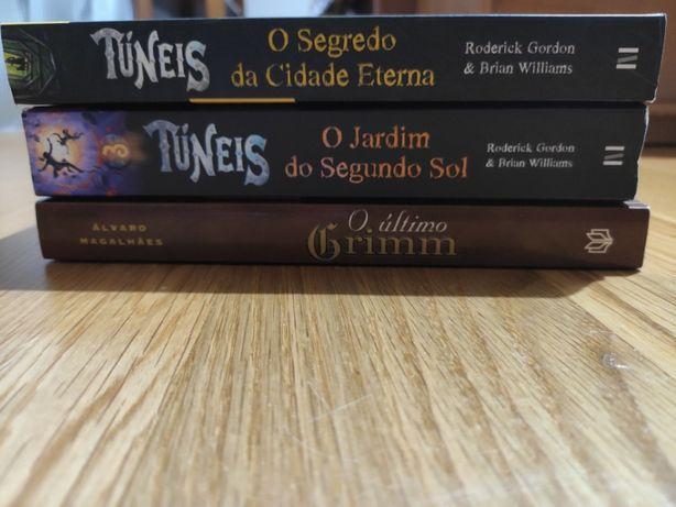 Livros Juvenis - Coleção Túneis; Ultímo Grimm