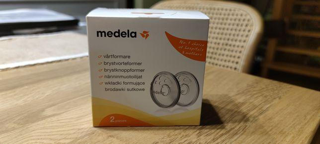 Nowe wkładki formujące brodawki sutkowe Medela