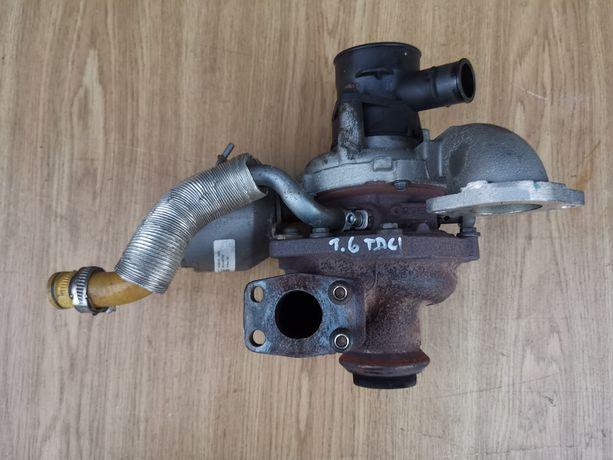 Turbosprężarka Ford FOCUS III 1.6 TDCi T1DA, T1DB