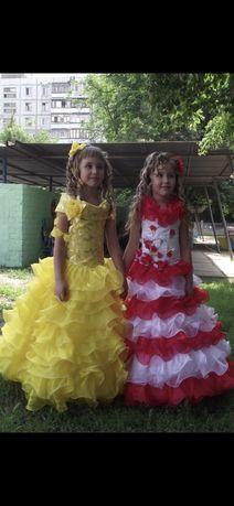 Детское нарядное платье. Выпускное. Праздничное.