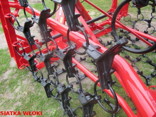 Siatka włóki odlewy zestaw do produkcji 6 m Włóka łąkowo-polowa łąkowa