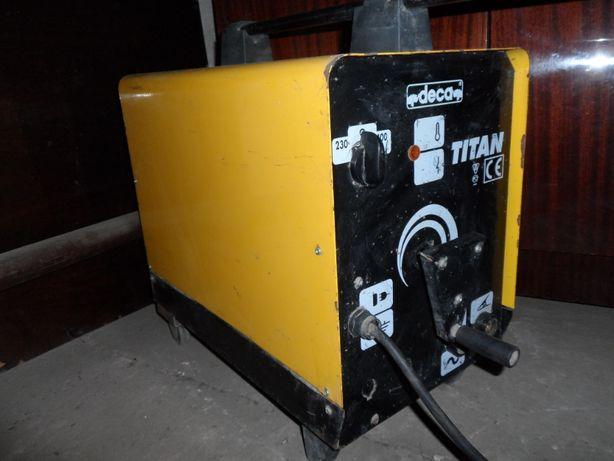 Сварочный аппарат Deca TITAN 255E, 220 / 380 Вольт, 5 кВт (Италия)