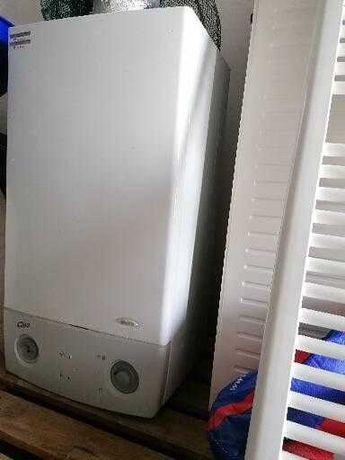Caldeira, radiadores e toalheiro