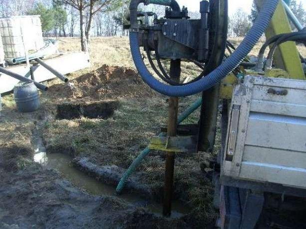 Wiercenie studni montaż pomp