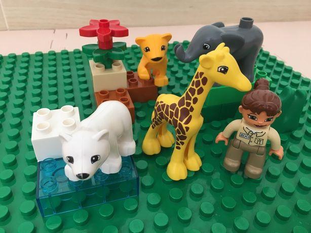 Лего Дупло Зоопарк для малышей