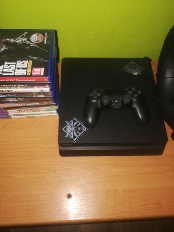Ps4 500G+Pad+Pudełko +12 pudełkowych gier