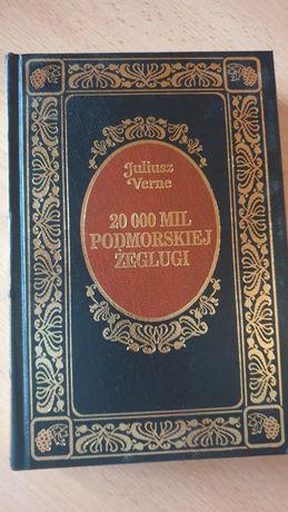 20000 mil podmorskiej żeglugi Juliusz Verne książka