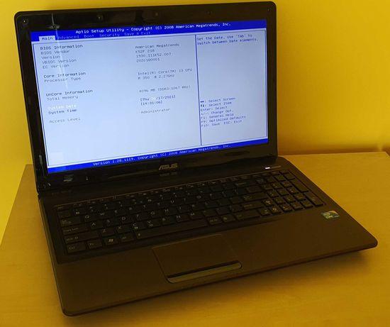 Asus K52F i3-350M * 4GB Ram * SSD 128 GB * stan igła !!