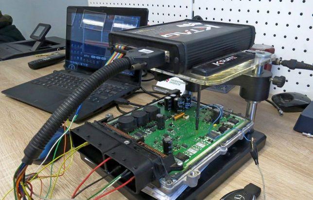 Удаление сажевого фильтра, EGR,катализатора. Физически и программно.
