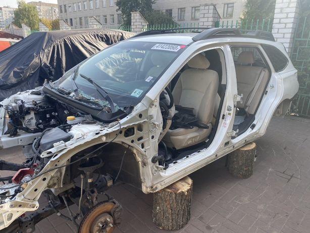 Subaru outback 2016 2015 2017 2018 разборка запчасти четверть стойка