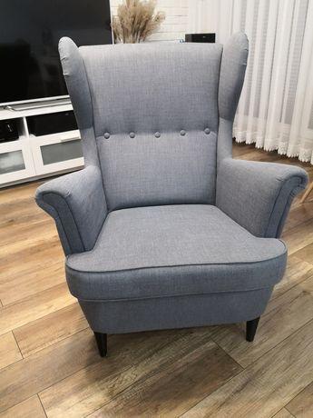 Fotel uszak, STRANDMON IKEA Nordvalla ciemnoszary