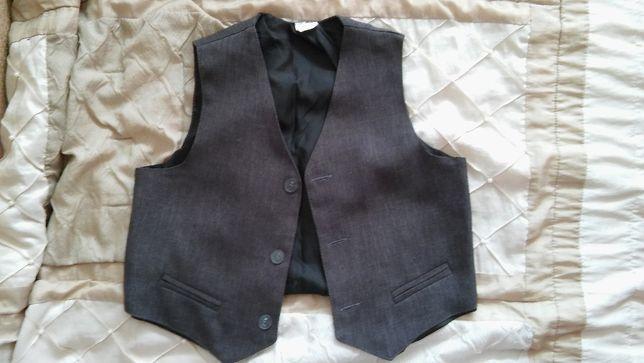 Elegancka kamizelka do koszuli 116 cm