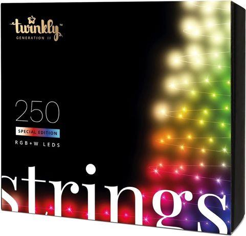 Светодиодная Smart LED гирлянда Twinkly Strings RGBW 250