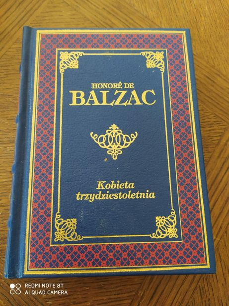 Honore dr Balzac Kobieta trzydziestoletnia