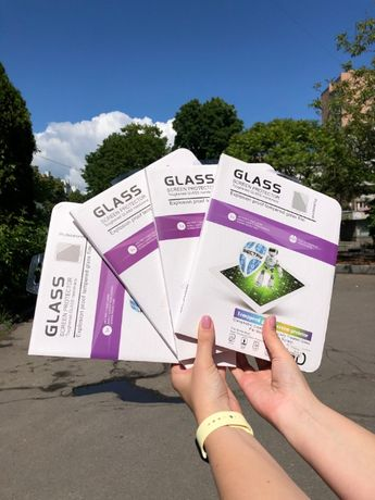 1+1=3 Защитное стекло для iPad2/3/4 Mini1/2/3/4 Air1/2 Pro9.7/10.5/11