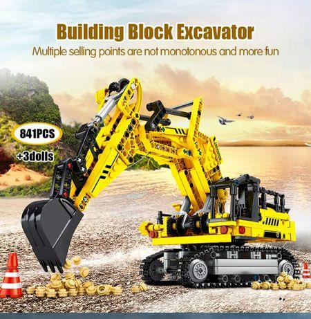Nowe klocki KOPARKA technic 841 elementow jakości jak LEGO