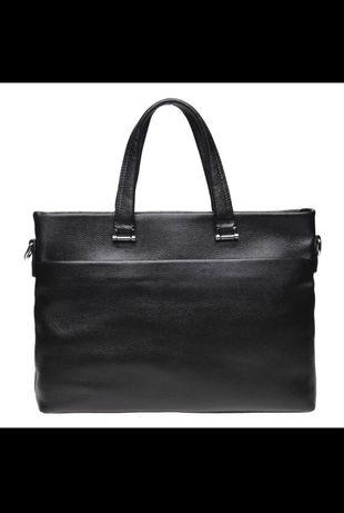 Мужские сумка портфель для ноутбука і документів шкіряна из турция,