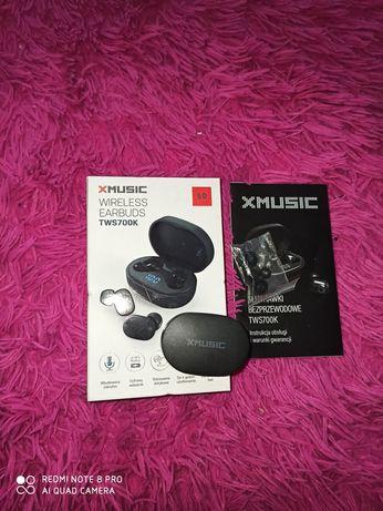 Słuchawki bezprzewodowe XMUSIC