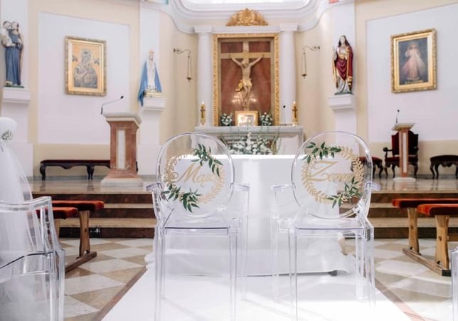 Dekoracje kościoła na ślub, sali weselnej, okolicznościowe, dodatki