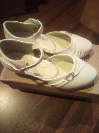 Buty komunijne r. 37 białe