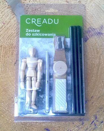 Zestaw do szkicowania Creadu z manekinem