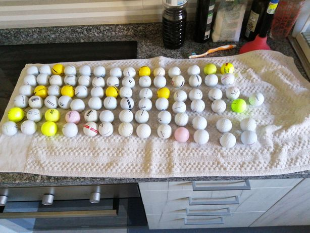 Bolas golf - 80 unidades
