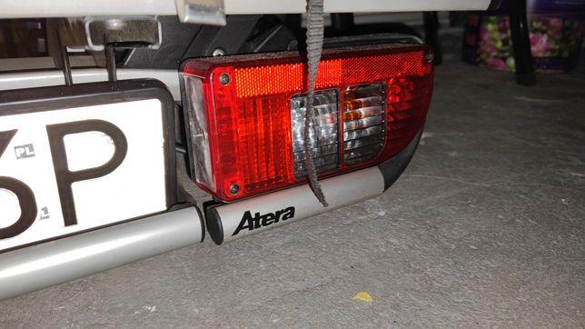 Bagażnik na hak Atera Strada M3 + dostawka na 4 rower