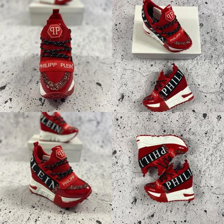 Hit! Damskie sneakersy Philipp Plein 36,37,38,39,40! Pobranie