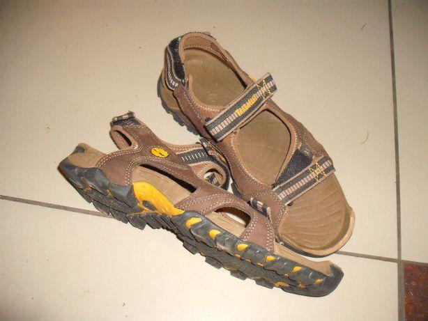 Timberland sandały skórzane