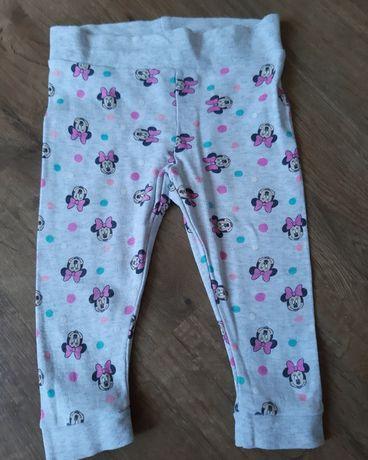 Spodnie legginsy dla dziewczynki