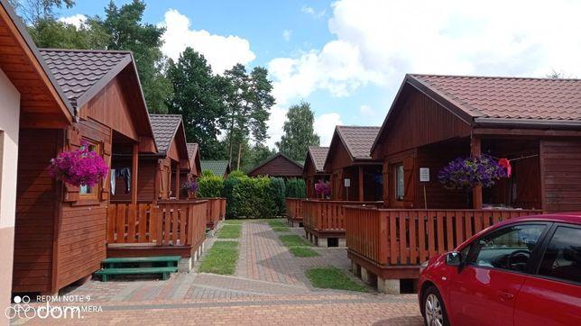 Ośrodek nad morzem - 10 domków drewnianych i dom