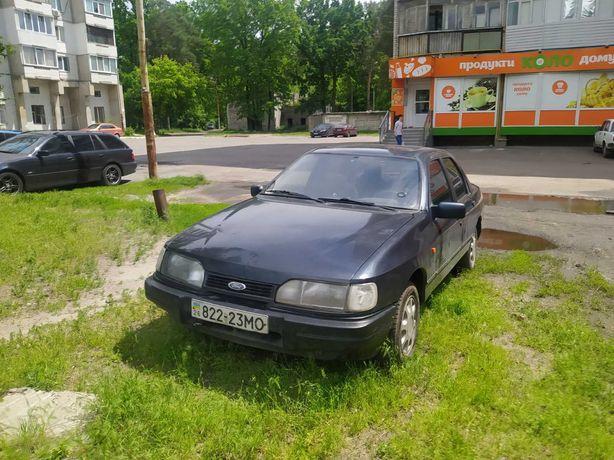 Форд сиера чёрная