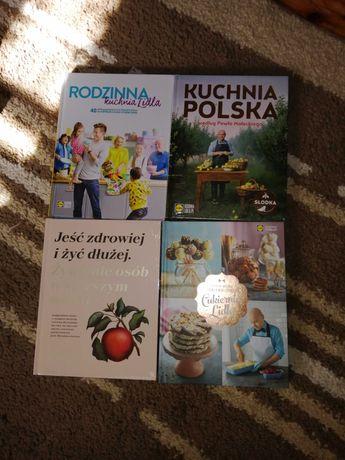 Książki Lidl 4 sztuki