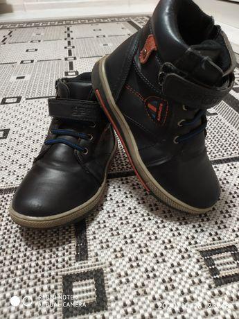 Демисезонные ботинки (сапожки, сапоги) детские для мальчика 19см