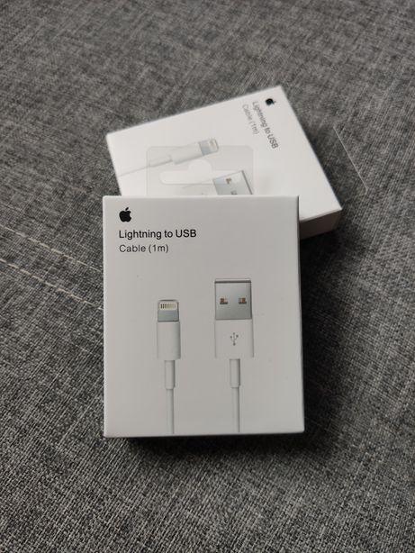 Nowy kabel USB lightning iPhone SE 6 7 8 X Xs 11 pro ipad ładowarka