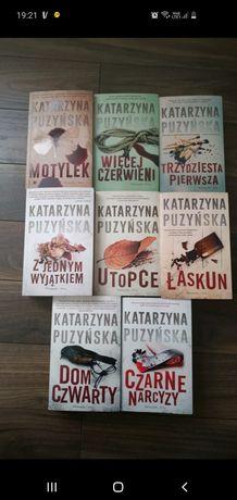 Katarzyna Puzyńska zestaw książkę
