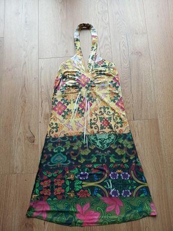 Letnia sukienka w azteckie wzory M